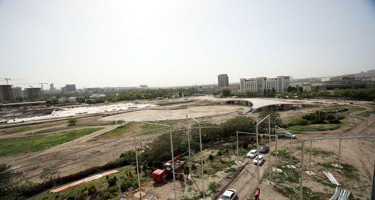 AKM Millet Bahçesi yıl sonuna kadar tamamlanacak