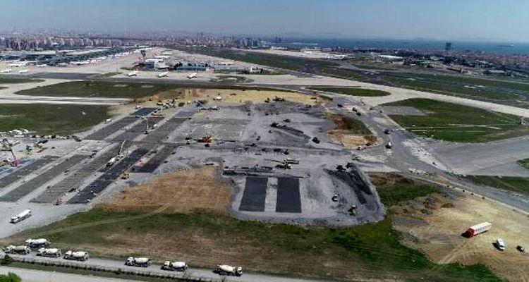 Atatürk Havalimanı'nda yapılan hastanenin temeli atıldı
