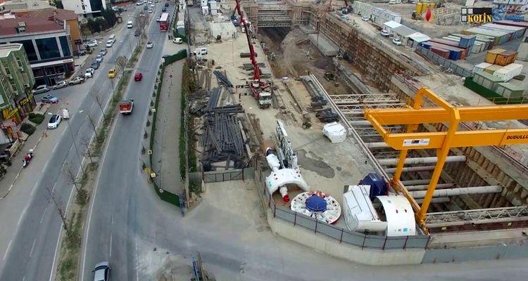 Dudullu-Bostancı metro hattının yapımı yeniden başladı