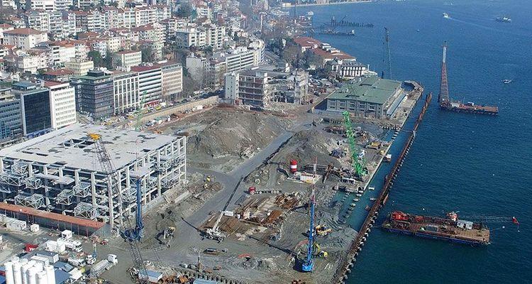 Galataport İstanbul'da inşaat çalışmaları durdu