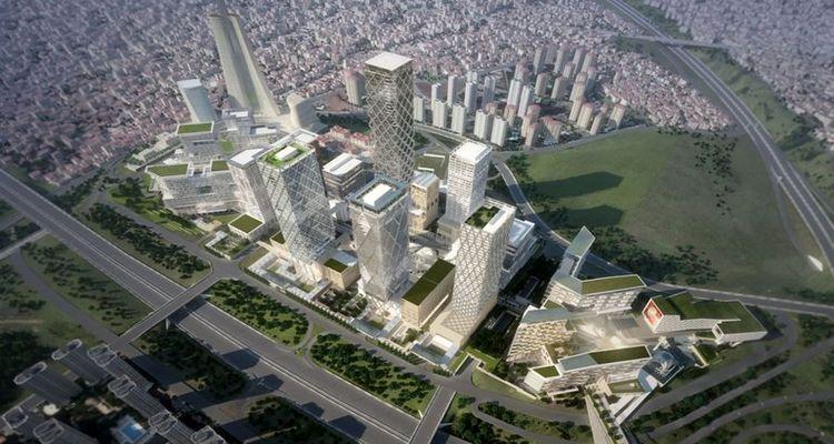 İstanbul Finans Merkezi'nde çalışmalar yüzde 34 seviyesine geldi