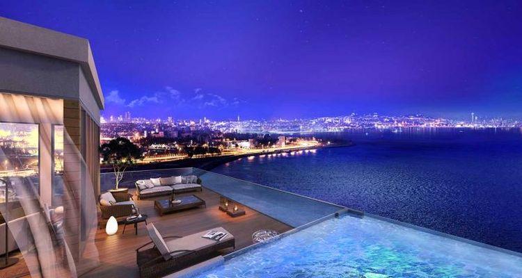İstanbul'da lüks konut fiyatları düştü
