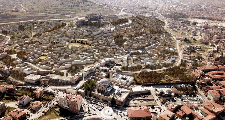 Kapadokya'da 'örnek kentsel dönüşüm modeli' uygulandı