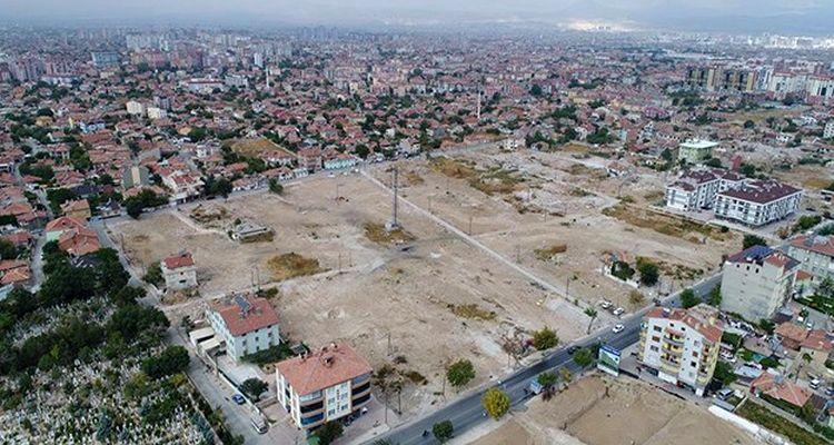 Konya'da kentsel dönüşüm çalışmaları hızlandı