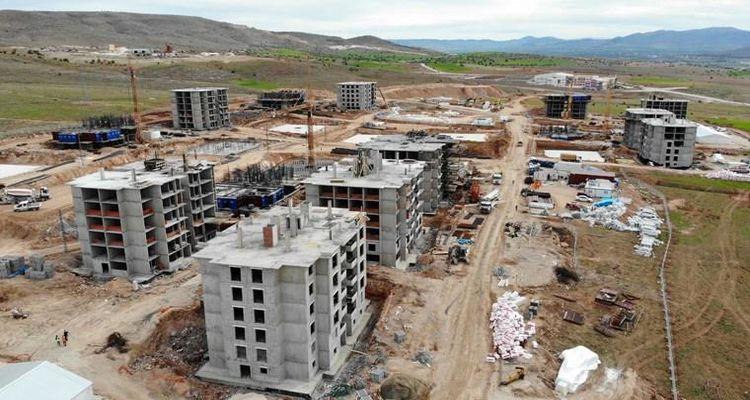 Malatya'daki deprem konutları yıl sonuna kadar bitirilecek