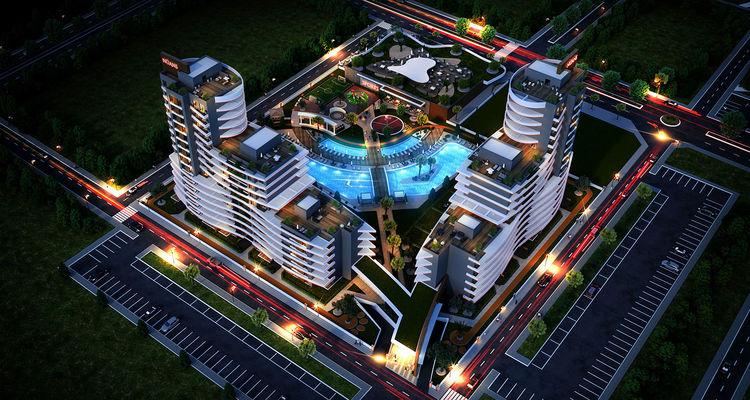 Nüans Deluxe projesi Bornova'da yükseliyor