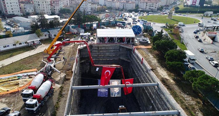Sancaktepe Şehir Hastanesi metrosu 2022'de açılacak