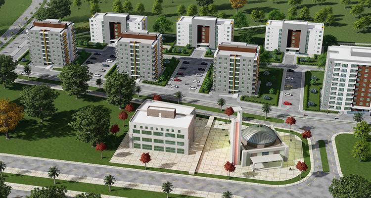 TOKİ Antalya Manavgat'a 222 yeni konut yapacak