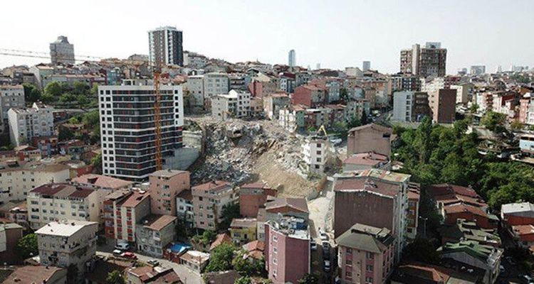 Zeytinburnu ve Kağıthane'de deprem konutları kuruluyor