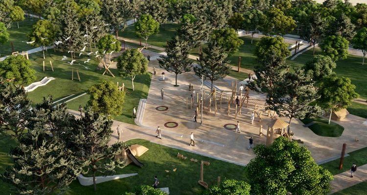Zeytinburnu'nda millet bahçesi yapımı için lojman yıkımları başladı