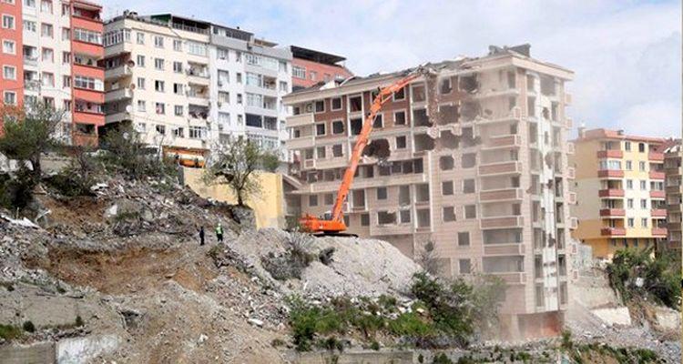 17 milyon binadan 6.7 milyonu riskli durumda bulunuyor
