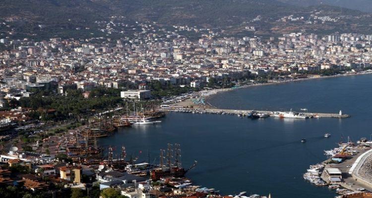 Alanya'da nüfusun yüzde 10'nu yabancılar oluşturuyor