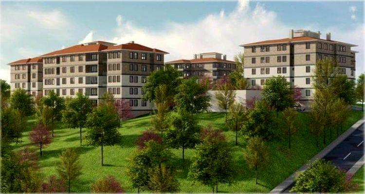 Amasya'da 26 adet sosyal konut satışa sunuldu