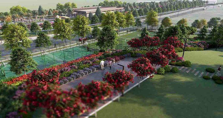 Antalya Serik'te millet bahçesi hayata geçiriliyor