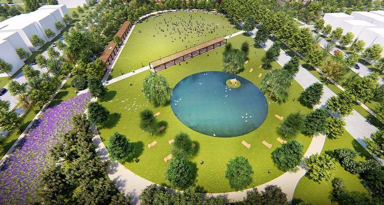 Çatalca Millet Bahçesi projesinde temel atıldı