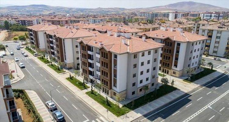 Elazığ Merkez'de 92 adet yeni sosyal konut satışa sunuldu