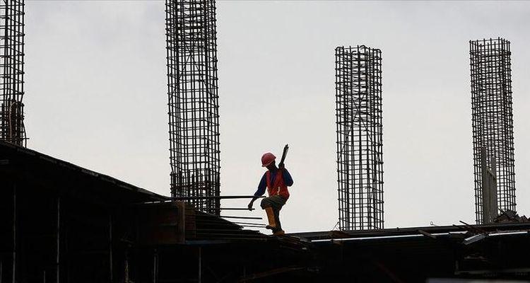 İnşaat sektörü güven endeksi Mart'ta yüzde 4 azaldı
