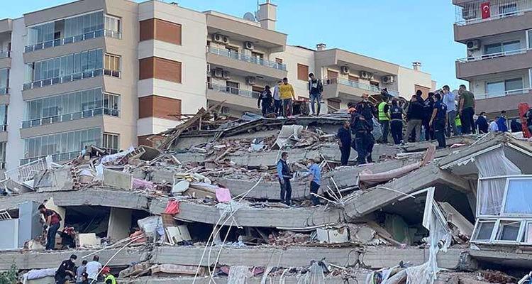 İzmir depreminde çöken binaların raporu oluşturuldu