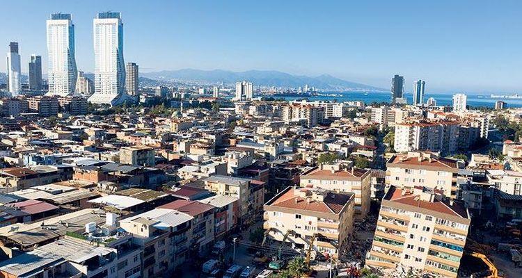 İzmir'de yılın ilk ayında 4 bin konut satıldı