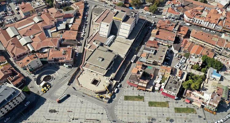 Konya Mevlana'da 19 bin metrekarelik alanda dönüşüm yapılıyor
