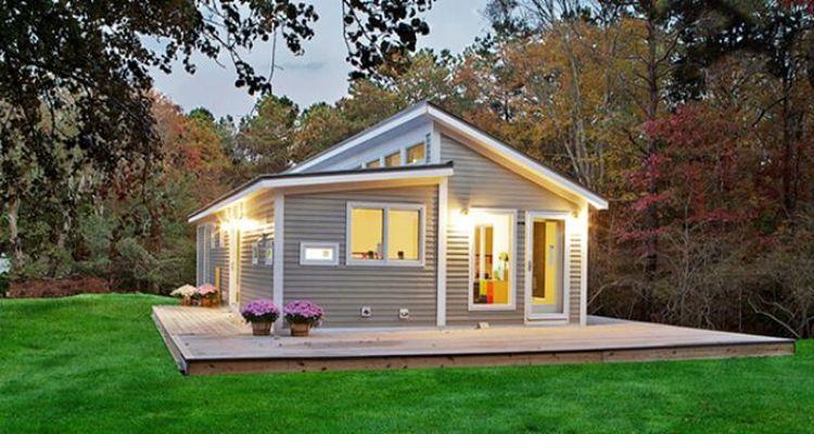 Prefabrik evlerin metrekare fiyatı bin TL'den başlıyor