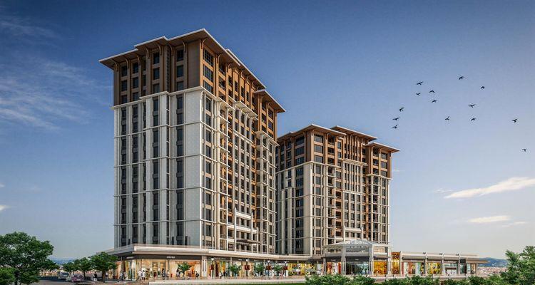 Referans Başakşehir projesinde inşaat tamamlanmak üzere