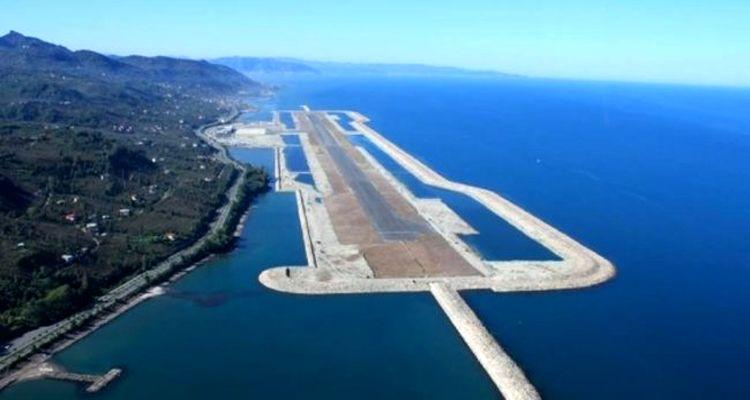 Rize-Artvin Havalimanı inşaatında yüzde 76 ilerleme kaydedildi