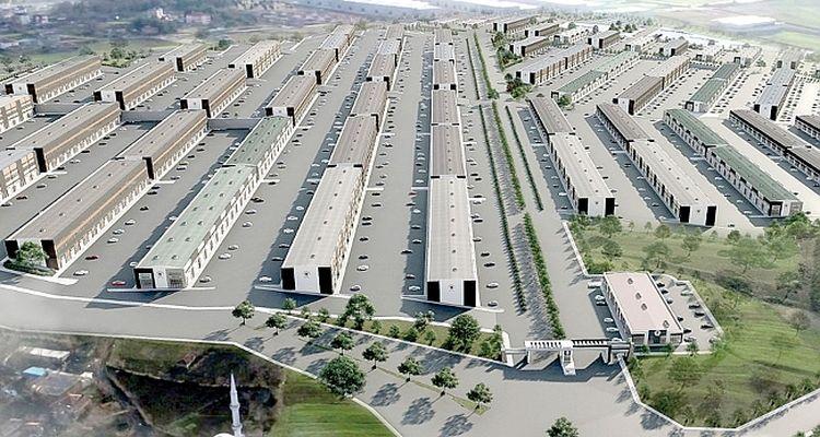 Samsun Gülsan Sanayi Sitesi'nde dönüşüm başladı
