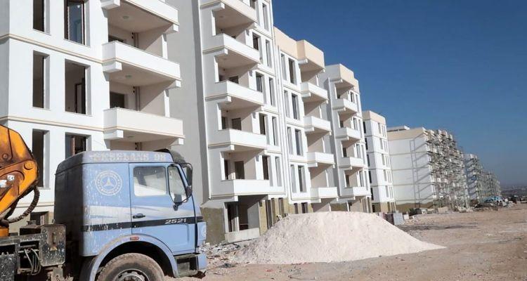 Şanlıurfa Eyyübiye'de dönüşüm konutları yükseliyor