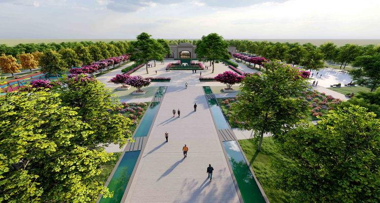 Şanlıurfa'nın iki ilçesinde millet bahçesi çalışmaları başladı