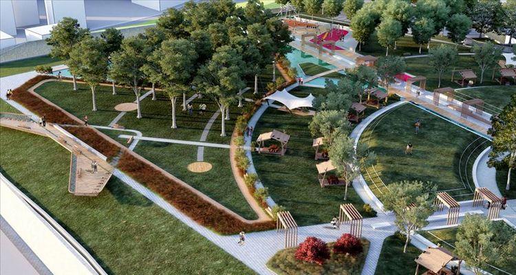Trabzon'daki yeni millet bahçesi gelecek ay açılıyor