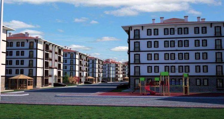 Zonguldak'ta 119 adet sosyal konut satışa sunuldu