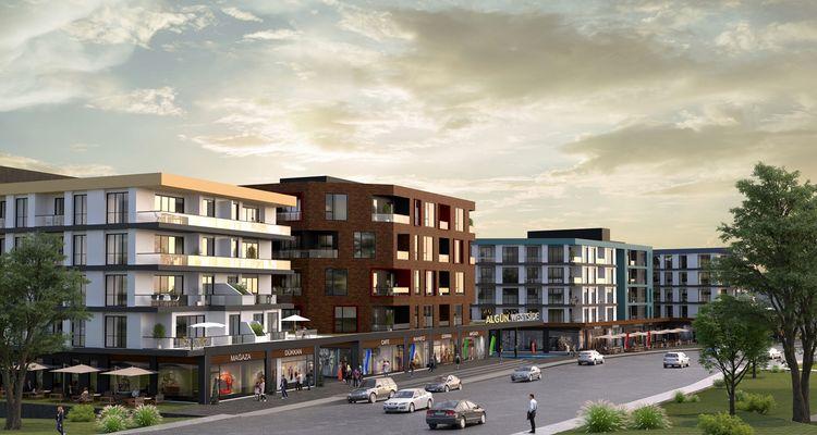 Algün West Side projesi Düzce'de lüks yaşam alanı kuruyor