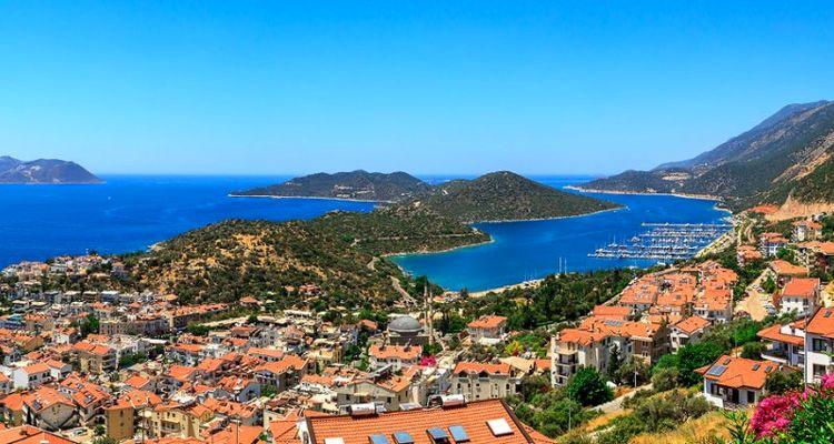 Antalya Kaş'ta 5 adet arsa satışa sunuldu