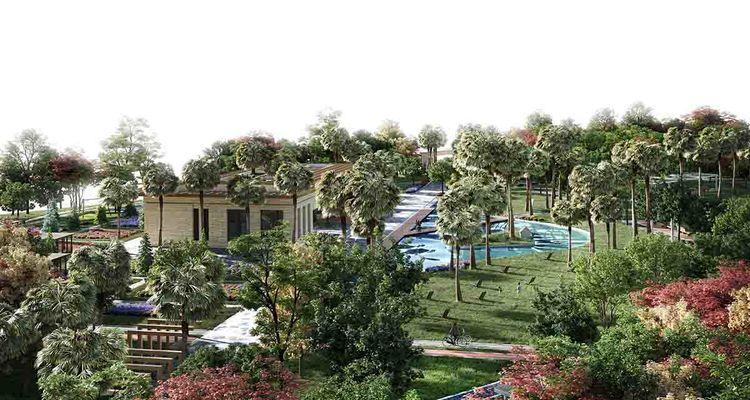 Antalya Muratpaşa'da millet bahçesi hayata geçiriliyor