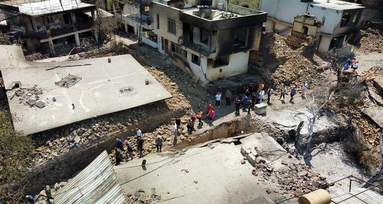Antalya ve Muğla'da yangından 2 bin 516 yapı etkilendi