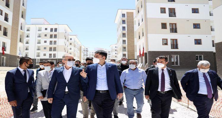 Burdur'da dönüşüm kapsamında 655 konut inşa ediliyor