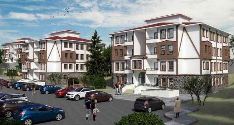 Eskişehir İnönü'de 126 adet yeni sosyal konut inşa edilecek