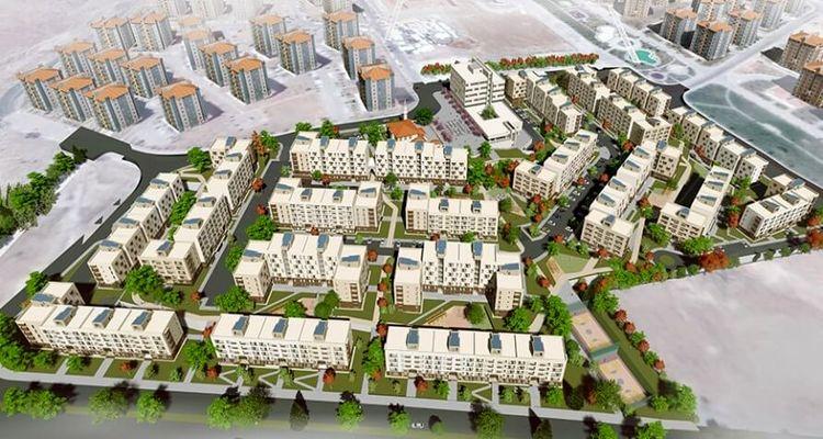Konya ve Aksaray'da 4 bin 780 sosyal konut inşa ediliyor