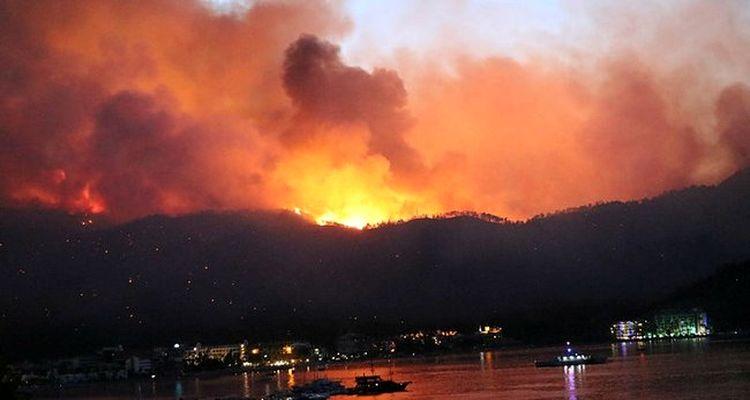Manavgat'ta 768 konut yangından hasar gördü