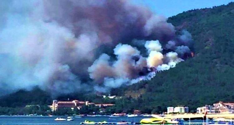 Marmaris'te yanan bölgeler imara açılmayacak!