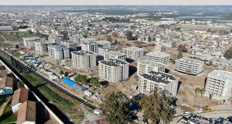 Mersin'in Akdeniz ilçesinde kentsel dönüşüm sürüyor