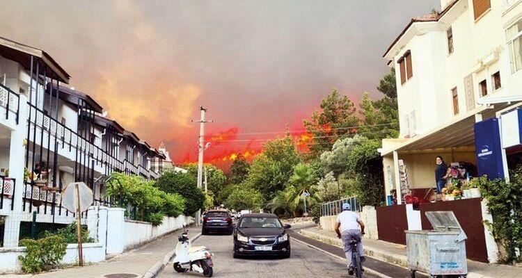 Muğla'da yangından etkilenen 173 bina yenilenecek