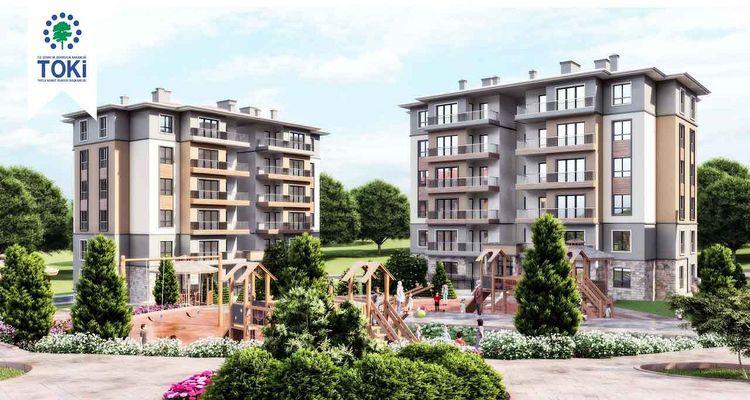 Nevşehir Kozaklı'da kentsel dönüşüm projesi inşa ediliyor