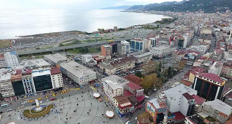 Rize'nin 5 ayrı noktasında kentsel dönüşüm uygulanıyor