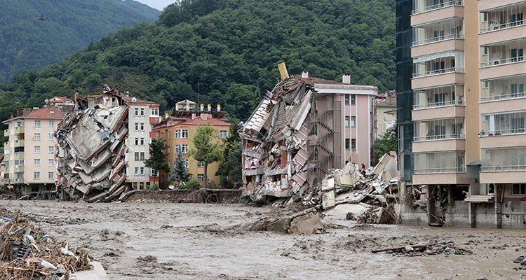 Selden etkilenen 454 ağır hasarlı bina tespit edildi