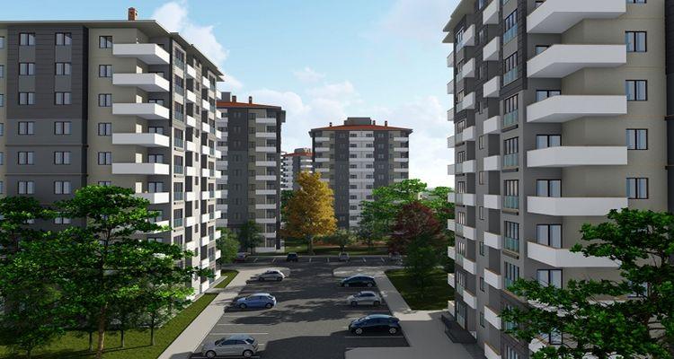 Trabzon Yomra'da 21 adet sosyal konut satışa sunuldu