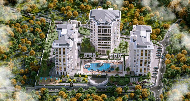 Yıldırım Palace projesi Alanya'da lüks yaşam alanı kuruyor