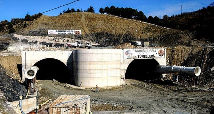 Sabuncubeli Tüneli'nin Açılış Tarihi Öne Çekildi