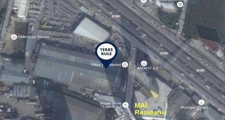 Dap Yapı Teras Kule'de 323 Bin TL'den Başlayan Fiyatlarla